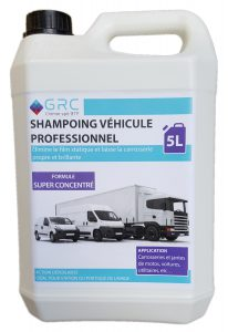 Shampoing vehicule professionel